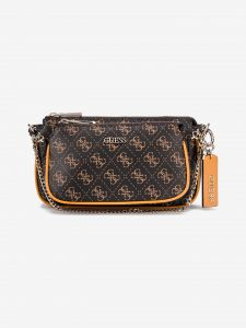 Arie Cross body bag Guess Hnědá 957657