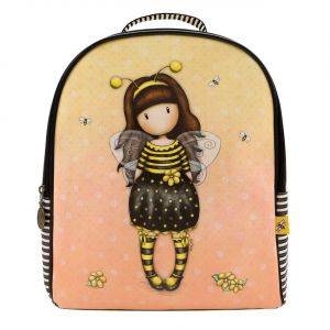 Santoro žlutý batoh Gorjuss Bee-Loved (Just Bee-Cause)