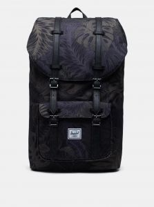 Černý vzorovaný batoh Herschel Supply