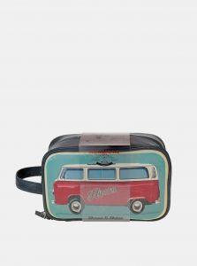 Modrá pánská kosmetická taška Something Special