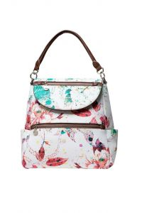 Desigual barevný batoh Back Spring Flowers Positano