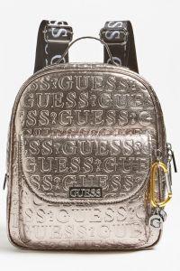 Guess batoh Lane Laminated Logo Maxi Backpack
