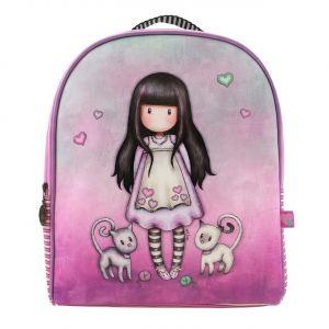 Santoro růžový batoh Gorjuss Tall Tails