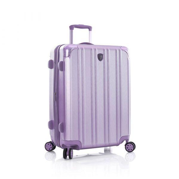 Heys Skořepinový cestovní kufr DuoTrak M Lilac 93 l