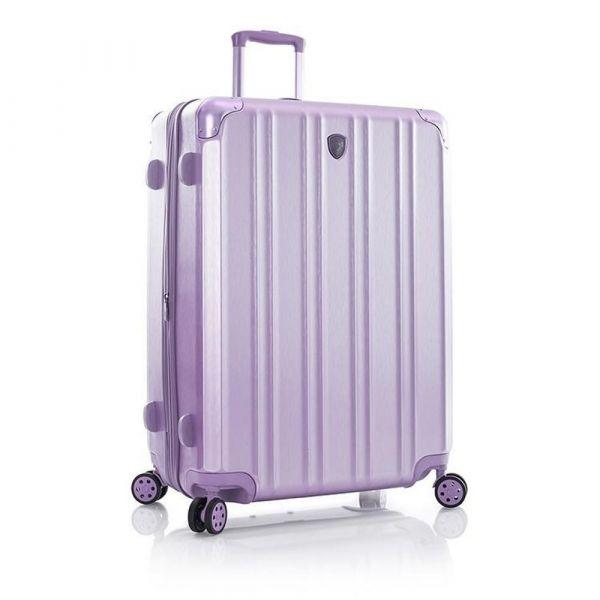 Heys Skořepinový cestovní kufr DuoTrak L Lilac 144 l