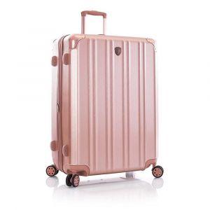 Heys Skořepinový cestovní kufr DuoTrak L Rose Gold 144 l