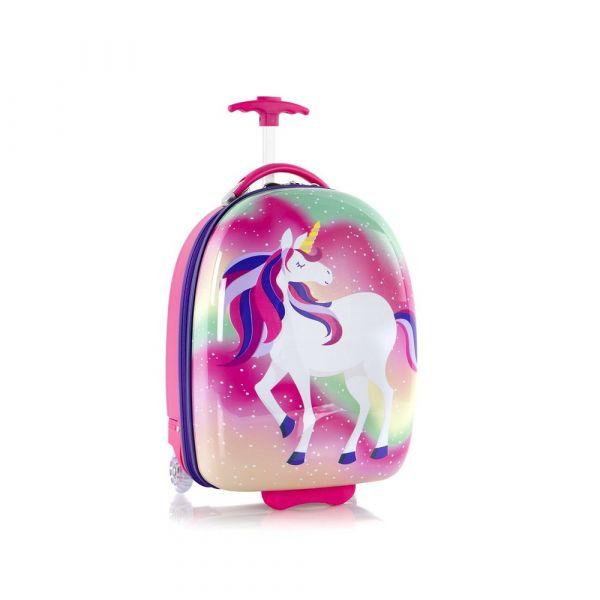 Heys Dětský cestovní kufr Kids Unicorn 2w Magic 27 l