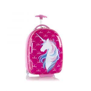 Heys Dětský cestovní kufr Kids Unicorn 2w Pink 27 l