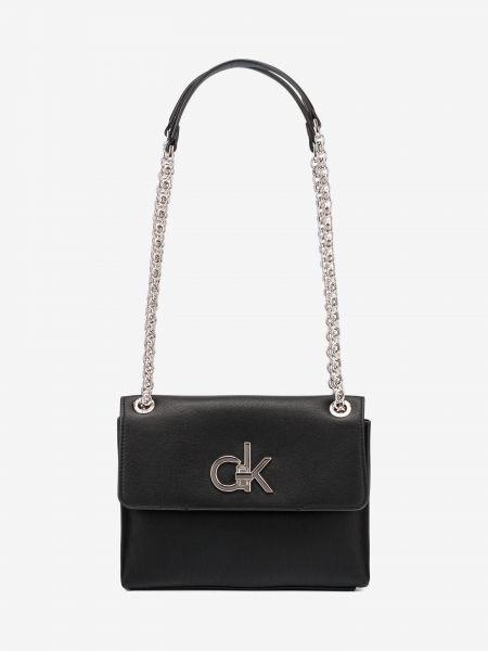 Ew Conv Flap Cross body bag Calvin Klein Černá 969948