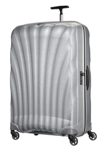 Samsonite Cestovní kufr Cosmolite Spinner 144 l – stříbrná
