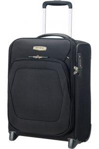 Samsonite Kabinový cestovní kufr Spark SNG Upright Underseater USB 28 l – černá