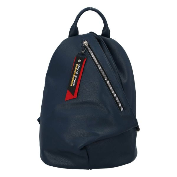 Módní dámský batoh David Jones Enita – modrá