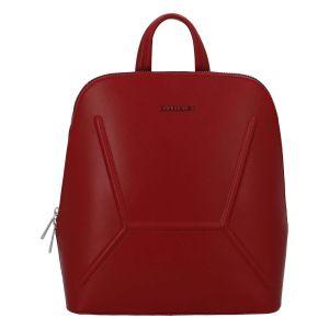 Dámský módní batůžek David Jones Aurora – červená