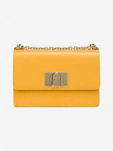 1927 Mini Cross body bag Furla Žlutá 976242