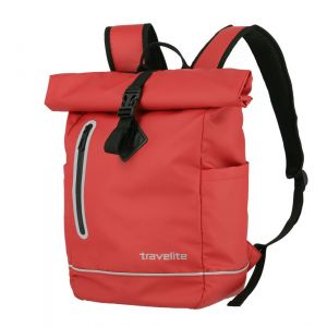 Travelite Batoh Basics Roll-up Plane Red 19 l