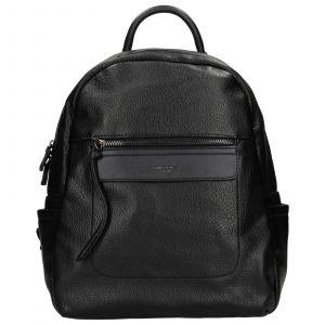 Módní dámský batoh David Jones Cora – černá