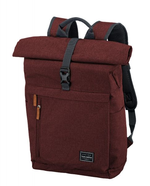 Travelite Basics Roll-up Backpack Bordeaux 35l