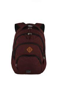 Travelite Basics Backpack Melange Bordeaux 22l