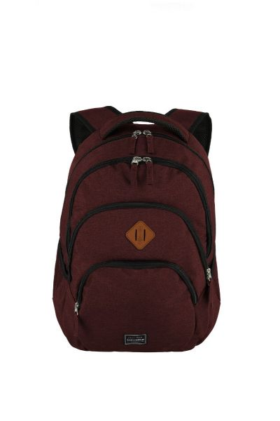 Travelite Basics Backpack Melange Bordeaux 22l