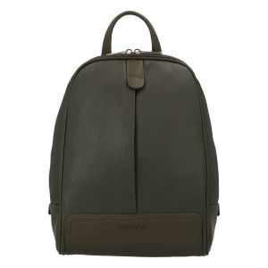 Módní dámský batoh David Jones Karla – khaki