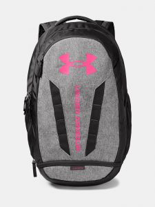 Batoh Under Armour UA Hustle 5.0 Backpack- šedá