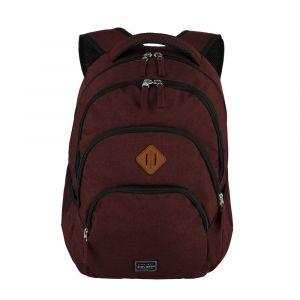 Travelite Městský batoh Basics Backpack Melange Bordeaux 22 l