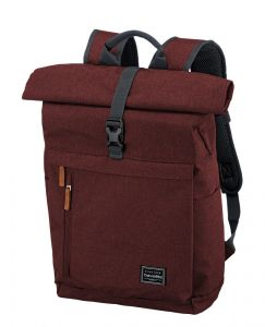 Travelite Městský batoh Basics Roll-up Backpack Bordeaux 35 l