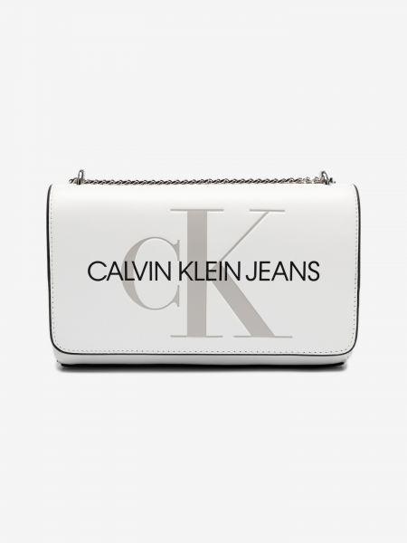 Cross body bag Calvin Klein Bílá 981108