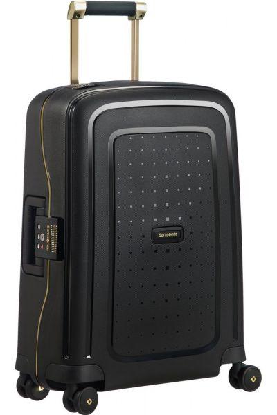 Samsonite Kabinový cestovní kufr S'Cure DLX Spinner 34 l – černá