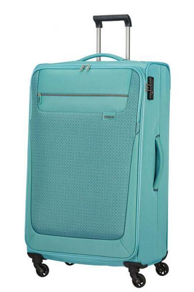 American Tourister Látkový cestovní kufr Sunny South L 103 l – světle modrá