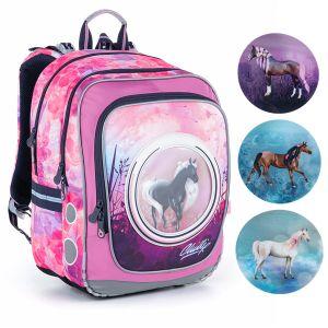 Batoh s koníkem pro nejmenší školačky Topgal ENDY 21005 G