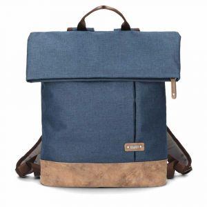 Zwei Unisexový městský batoh na notebook Olli O25 12/19 l – modrá