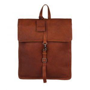Dámský kožený batoh Burkely Alma – koňak