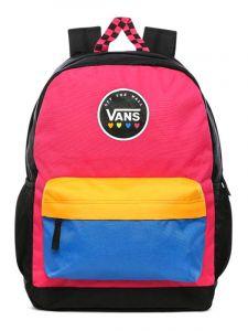 Vans SPORTY REALM PLUS CABARET batoh do školy – černá