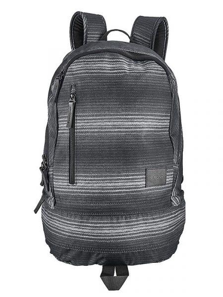 Nixon RIDGE SE BLACKGRAY batoh do školy – šedá