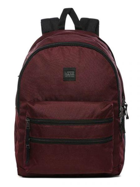 Vans SCHOOLIN IT Port Royale batoh do školy – červená