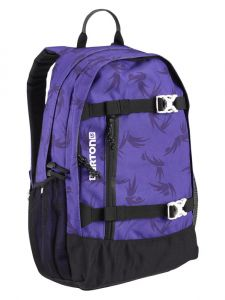 Burton WMS DAY HIKER GRAPE MODERN FLORAL batoh do školy – fialová
