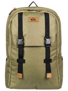 Quiksilver ALPACK BURNT OLIVE batoh do školy – zelená