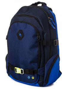 Rip Curl PRO GAME POSSE blue batoh do školy – modrá