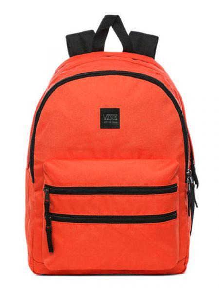 Vans SCHOOLIN IT Paprika batoh do školy – červená