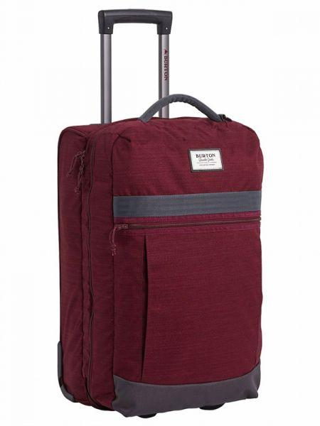 Burton CHARTER ROLLER PORT ROYAL SLUB kufr do letadla – červená