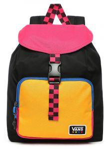 Vans GLOW STAX black batoh do školy – barevné