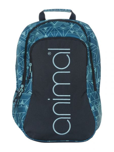 Animal BRIGHT Teal Blue batoh do školy – modrá