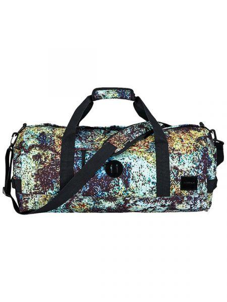 Nixon PIPES DUFFLE RIFFEDIGI-TEKCAMO cestovní taška – barevné