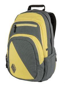 Nitro STASH GUNMETAL batoh do školy – šedá