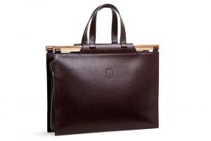 Business kožená taška Lineari Handbag BeWooden