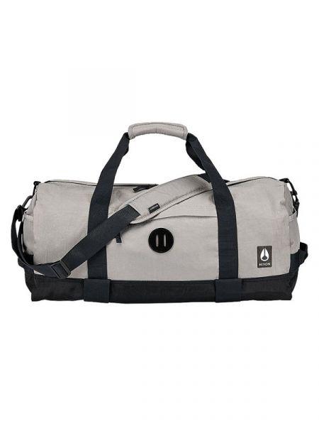 Nixon PIPES DUFFLE II KHAKIBLACK cestovní taška – béžová