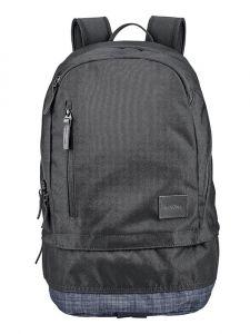 Nixon RIDGE SE BLACKBLACKWASH batoh do školy – černá