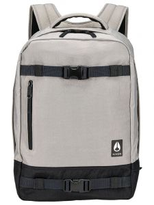 Nixon DEL MAR II KHAKIBLACK batoh do školy – bílá