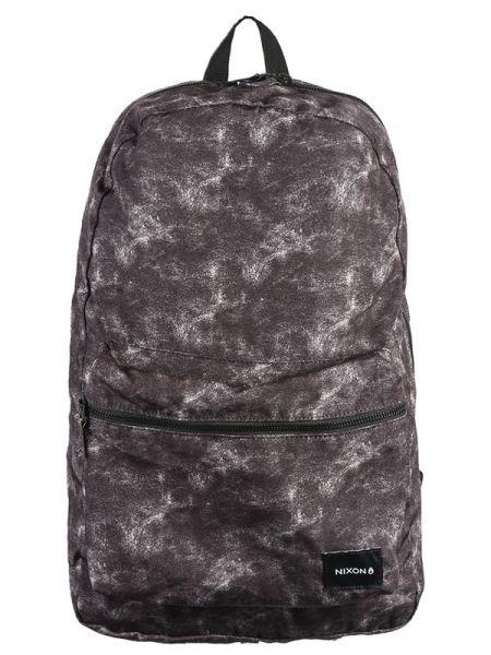 Nixon EVERYDAY black batoh do školy – šedá